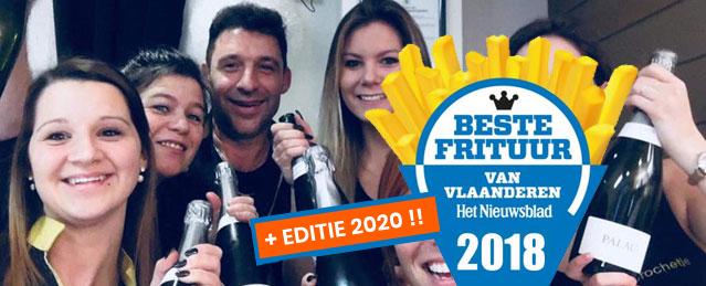 Beste Frituur van Vlaanderen 2018 2020